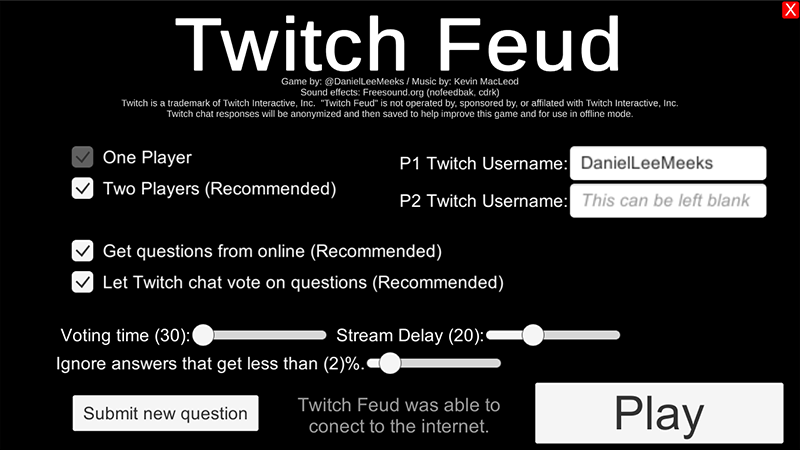 Twitch Feud Temp Menu